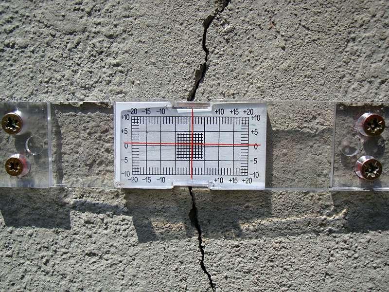 Bauingenieurwesen und Vermessung: Rissprotokoll und Monitoring zur fürsorglichen Beweisaufnahme