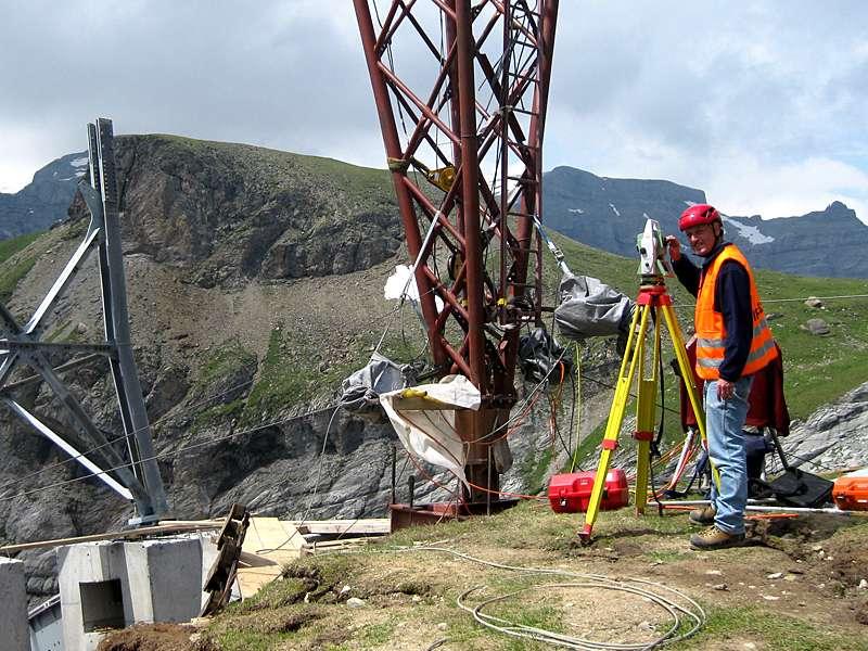 Vermessung und Geomatik: Bauvermessung zur grossräumigen Koordinaten- und Höhenübertragung