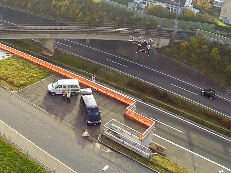 Geometer und Vermessung: Drohnenvermessung mit Multikopter