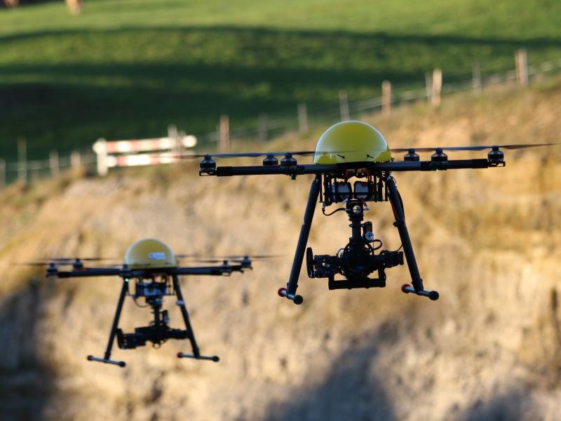 Geometer und Vermessung: Drohnen im Flugtraining
