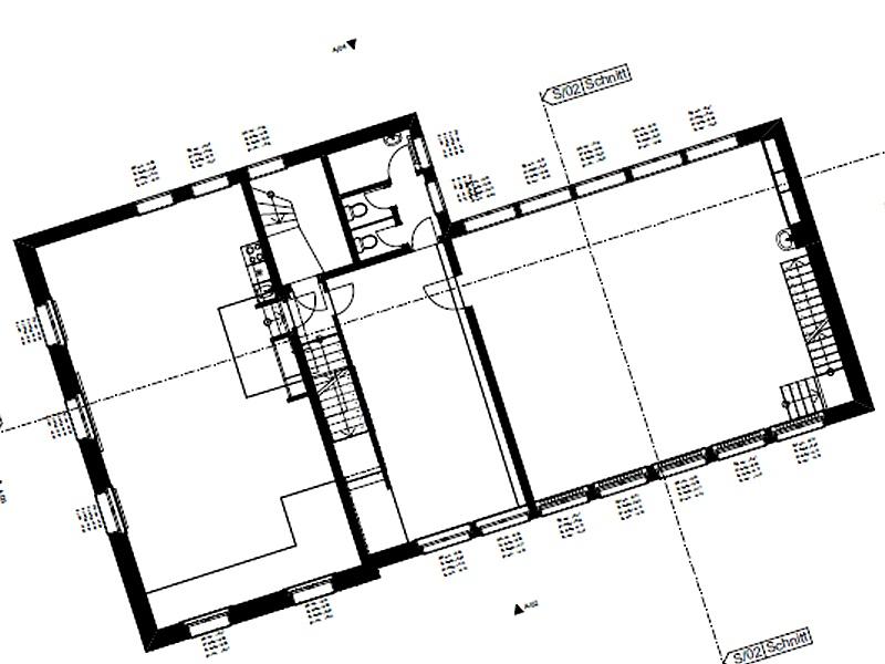 Vermessung mit Laserscanner: Planvisualisierung aus Laserscanning für Architekt und Bauherr