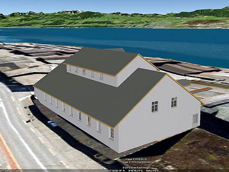 Vermessung und Geomatik:3D Visualisierung in Google Earth